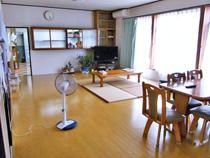 さかどホーム 食堂・談話室