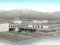 隣接する南魚沼市民病院