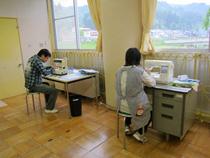 縫製作業(うらさ)